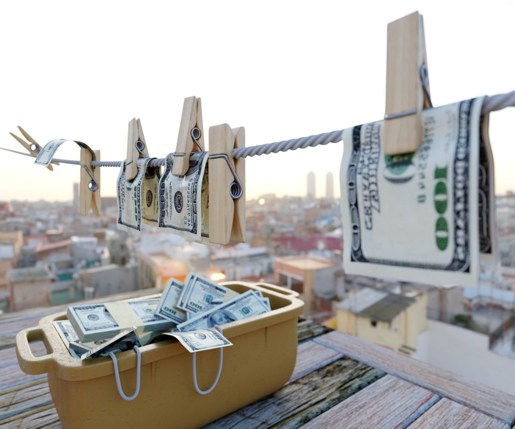 pranie pieniedzy
