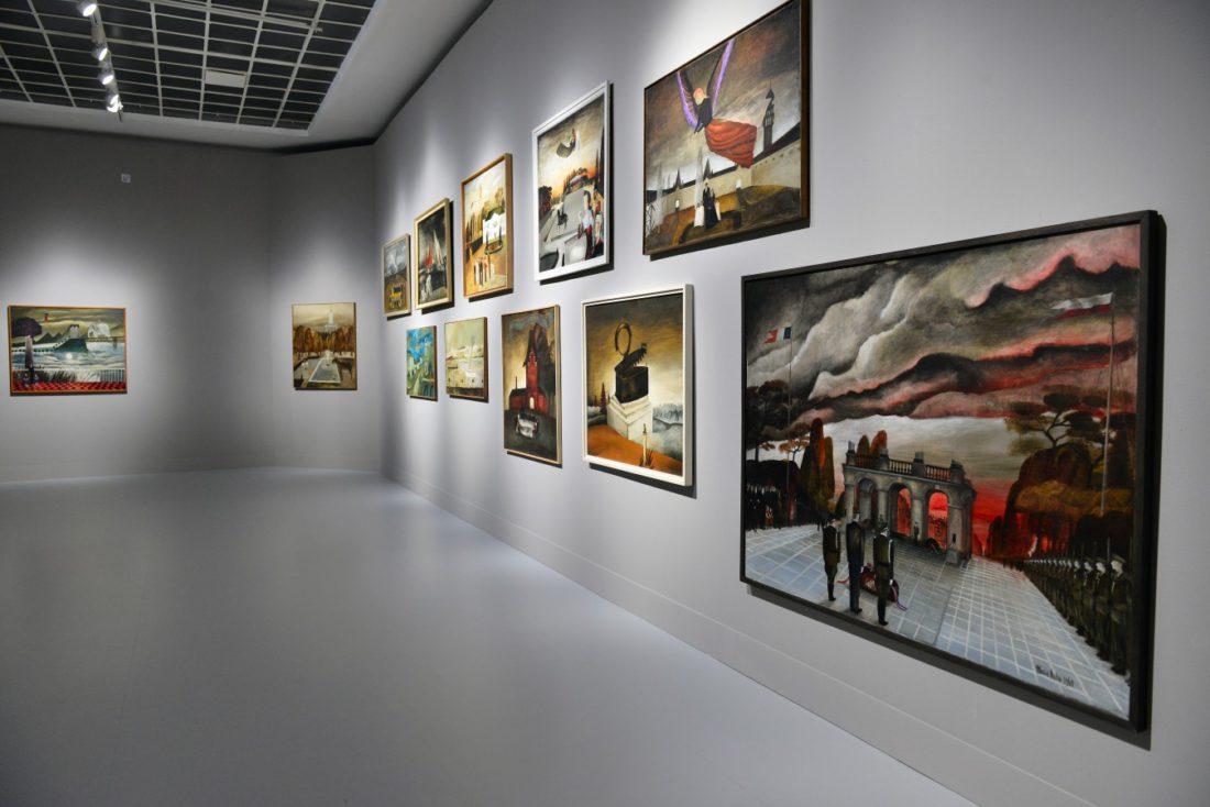 Maria Anto, widok wystawy, Zachęta, fot. Marek Krzyżanek