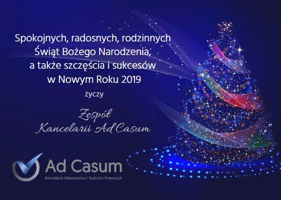 Ad Casum - życzenia