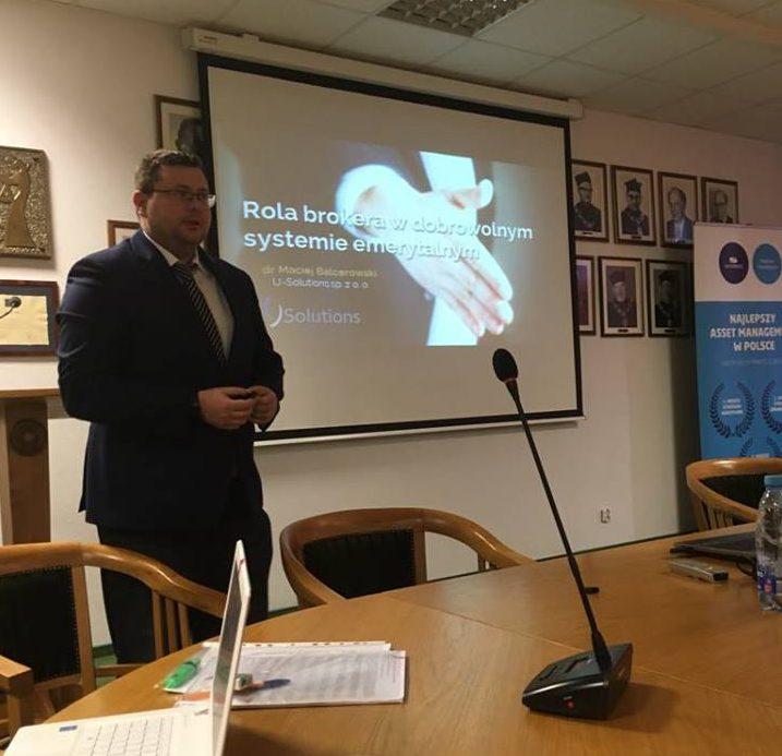 III dzień brokerski umk dr Maciej Balcerowski